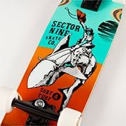 Sector 9 GAUCHO NINETY FIVE / TEAL