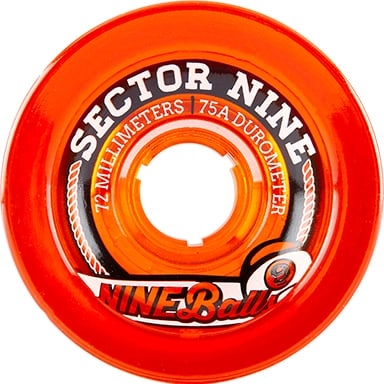 Sector 9 Wheels | 9 BALLS (72mm 75A)