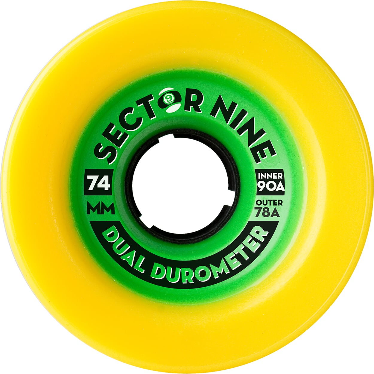 SECTOR 9 WHEELS | DUAL DUROMETER (74mm 78A)